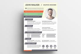 creative resume v resume templates on creative market