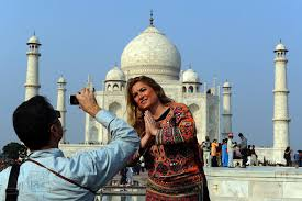 photo essay tourism grows in india   india real time   wsj