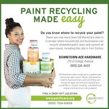 paintcare inc about paintcare inc 2015 fort collins co newspaper ad