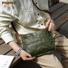 <b>PNDME Original Handmade Genuine</b> Leather Shoulder Bag ...