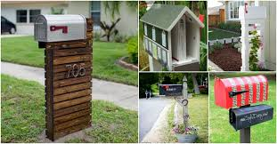 15 Amazingly <b>Easy</b> DIY <b>Mailboxes</b> That Will Improve Your Curb ...