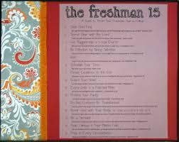 the freshman bible study senior gift the freshman bible study framed copy of the freshman 15 26 99