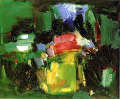 Hans Hofmann: 'Jardin d'Amour', oil painting on canvas 1959