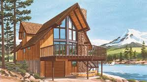 Ski Chalet Plans   So Replica HousesChalet House Plans