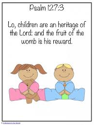 Image result for psalm 127 3