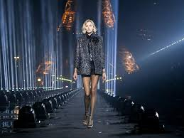Why is <b>Saint Laurent's</b> show the most <b>exquisite</b> one so far?