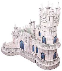 Купить 3D-пазл <b>CubicFun</b> Ласточкино гнездо (MC129h), 61 дет ...