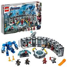 LEGO <b>Marvel Avengers</b> Iron Man Hall Of Armor <b>Superhero</b> Mech ...