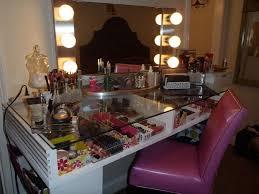 diy makeup vanity with lights awesome diy makeup