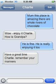 App of the Day – iPhone Text Meme – What would Charley Bucket text ... via Relatably.com