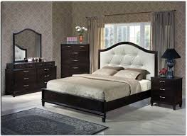 white bedroom furniture set including tufted bed
