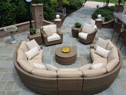 patio furniture sectional ideas: furniture design ideas patio sectionals great about remodel with this elegant circle sofa round coffee