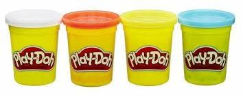 Масса для лепки Play-Doh <b>Набор 4</b> банки 448 г (B5517) — купить ...