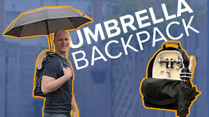 The <b>automatic</b> opening <b>umbrella</b> backpack - How I made it - YouTube