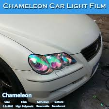 <b>chameleon</b> transparent headlight film for <b>car</b> headlight decoration ...