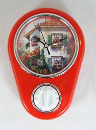 """Кухонные <b>настенные часы</b> """"<b>Дом</b>"""" арт.37386 (16*5*23см, с ..."""