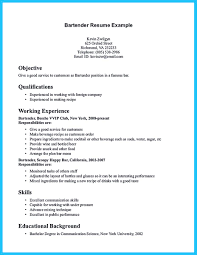 outstanding details you must put in your awesome bartending resume    bartending resume tips and bartending resume experience resume