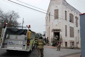 parkersburg firefighters extinguish blaze at kootaga n photo by evan bevins parkersburg firefighters work at the scene of an intentionally set fire wednesday