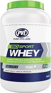 PVL ISO <b>Sport</b> Whey – Clean Gold Standard 100% <b>Whey Protein</b> ...