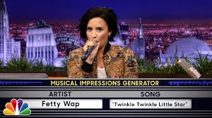 Wheel of Musical Impressions with Demi Lovato - YouTube