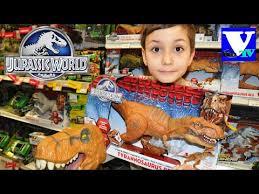 VLOG Магазин игрушек: <b>ДИНОЗАВРЫ</b>! <b>Jurassic World</b> review ...