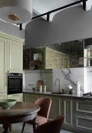Кухня. Обеденный стол, Gramercy Home; стулья, Montbell ...