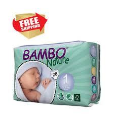 Одноразовые <b>подгузники Bambo Nature</b> — купить c доставкой на ...