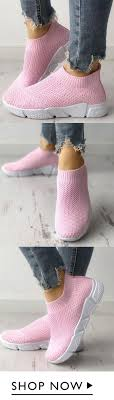 Breathable Elastic Cloth <b>Platform</b> Slip on <b>Sneakers</b> in 2019 ...