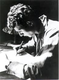 Resultado de imagen de poeta escribiendo