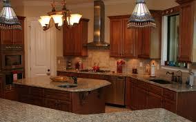 model home kitchen island