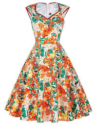 paul jones womens flower print sleeveless v neck vintage dress paul jones womens flower print sleeveless v neck vintage dress color d s