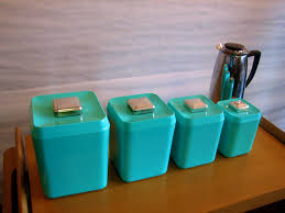 kitchen containers for sale  glamorous turquoise kitchen canister set gre stuffgre stuff bath canisters vintage sets for of full size