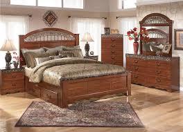 queen storage bedroom set q b