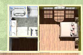bedroom floor plans bathroom