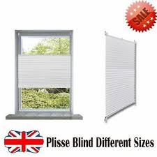 Pleated Plisse Blinds <b>Window</b> Curtain Door Privacy Screen ...