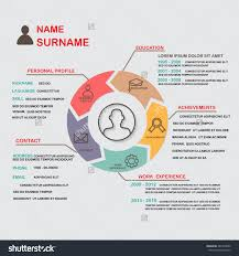 resume  cv  template infographics background and element  can be    save to a lightbox