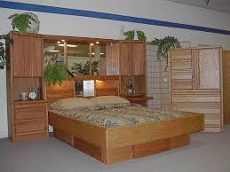 king size pier wall  oak headboard tallwall