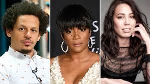 Eric André, Tiffany Haddish & Michaela Conlin '<b>Bad Trip</b>' Movie ...