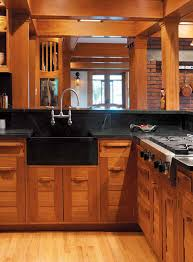 cabinet door styles cabinetry rta cabinets with bold wood pulls are a handsome interpretation of period