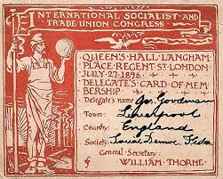 Second INternational Congress London 1896