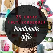 25 cheap {but gorgeous!} DIY gift ideas - It
