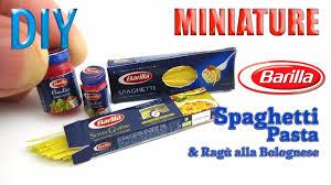 diy miniature barilla spaghetti pasta and bolognese sauce diy miniature barilla spaghetti pasta and bolognese sauce