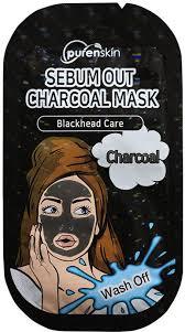 Purenskin Wash Off Sebum Out Charcoal Mask - <b>Маска для лица</b> ...