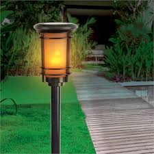 Arlec <b>Solar Flame</b> Effect Path <b>Light</b> | Bunnings Warehouse
