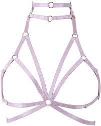 Body harness bra Womens lingerie cage belt <b>Punk</b> gothic Stretchy ...