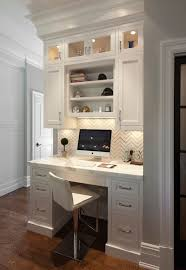 kitchen cabinets home office transitional: desk in kitchen transitional kitchen blue water home builders