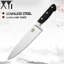 XYj Japanese Paring Utility <b>Santoku</b> Bread Slicing <b>Chef</b> Stainless ...