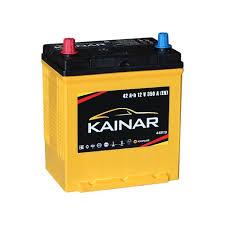 Автомобильный аккумулятор <b>KAINAR</b> 42 А.Ч. ASIA | Центр-<b>АКБ</b>