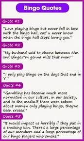 Bingo Quotes on Pinterest | Dj Quotes, Quotes About Giving and ...