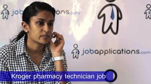 kroger pharmacy tech job description salary